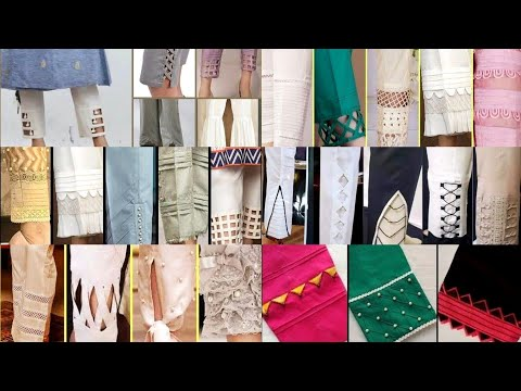Top 100 Trending and Usefull Trousers Palazzo Designs Collection 2020