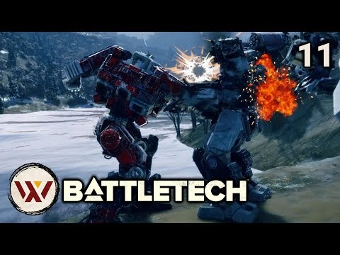 Redneck Baths - #11 BATTLETECH Let's Play Campaign Gameplay