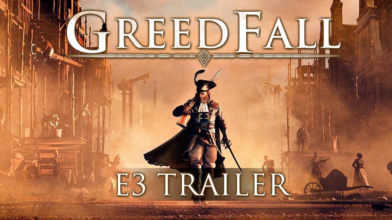 GreedFall трейлер игры