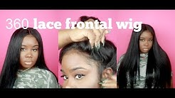 ♡ EASY 360 LACE FRONTAL WIG ! Uamazinghair ALIEXPRESS