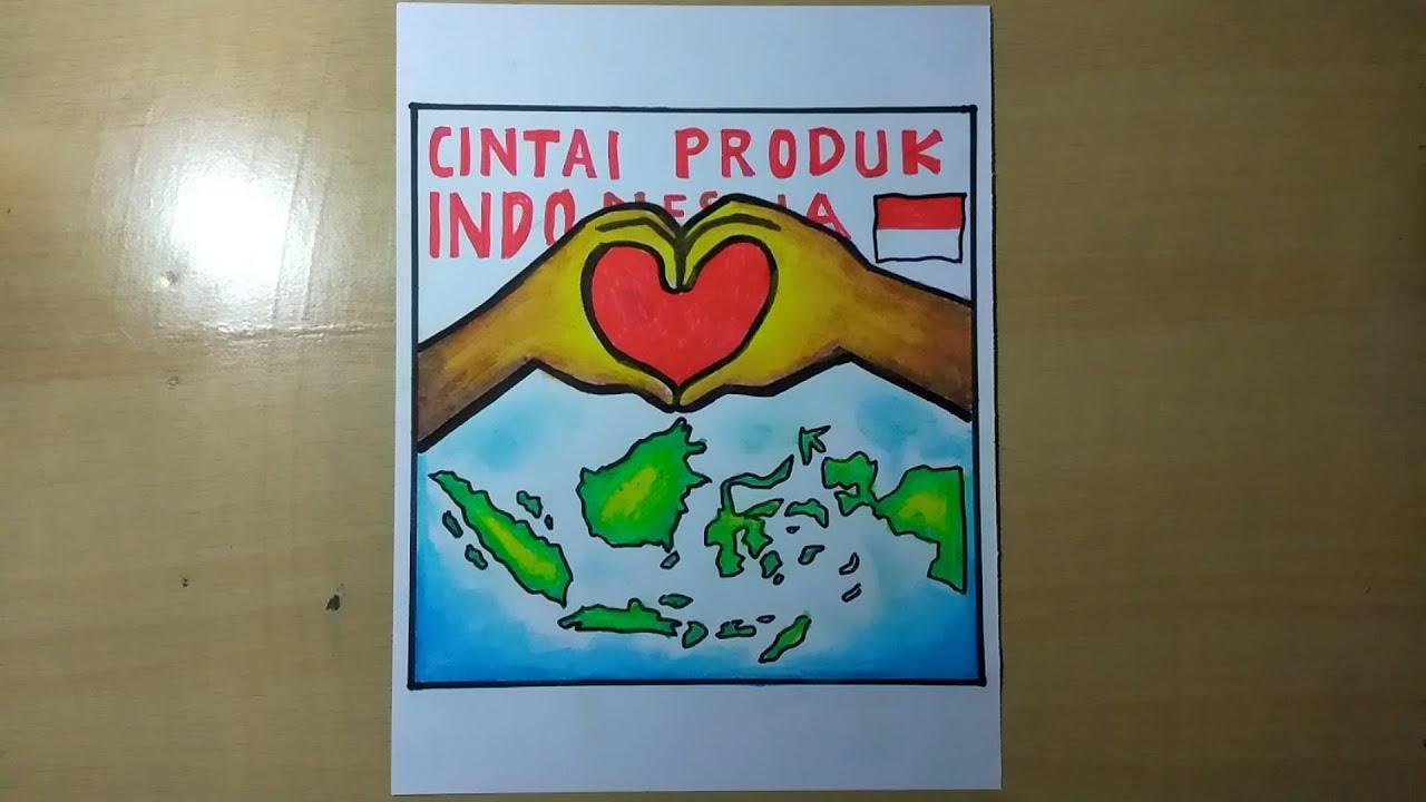 Paling Baru Membuat Poster Cinta Produk Indonesia - Miss B ...