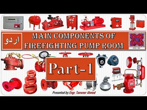 Main Components Of Fire Fighting Pump Room Part-1 In Urdu / Hindi