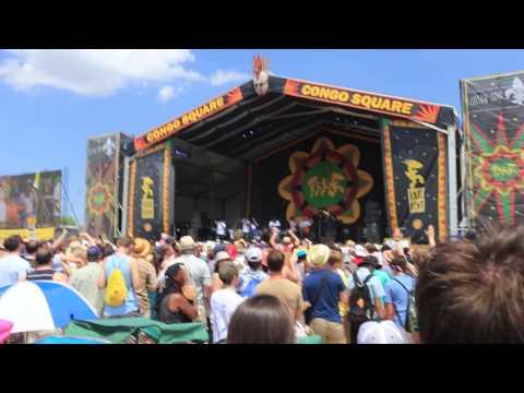 Soul Rebels - Running Away - JazzFest 2015