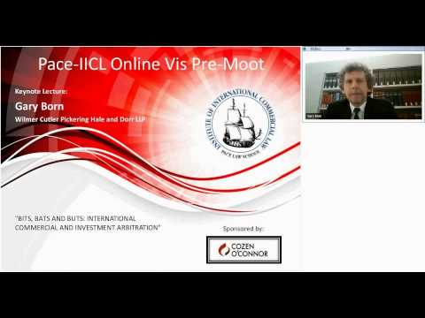 IICL Online Vis Pre Moot Keynote Lecture with Gary Born