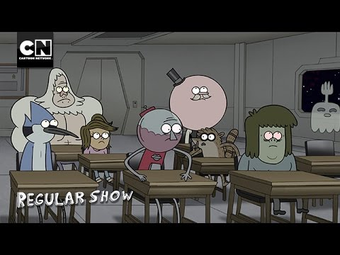 Regular Show | Welcome To Space | Cartoon Network