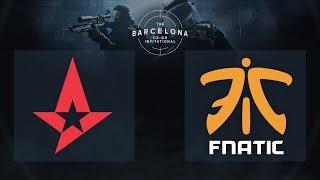 CS:GO - Astralis vs. Fnatic [Dust2] Final Map 1 - The Barcelona Invitational - Day 3