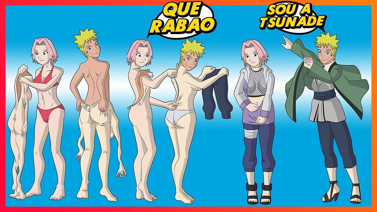 COMO VIRAR A TSUNADE 😳😳😏😏 | Memes de Naruto Shippuden e Boruto #44 | Memes em Imagens