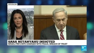 Israel: PM Netanyahu's wife charged with fraud