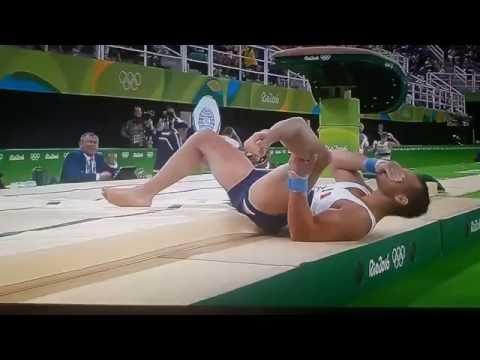 Французский гимнаст,перелом ноги на О.И. 2016▼Click To Share▼