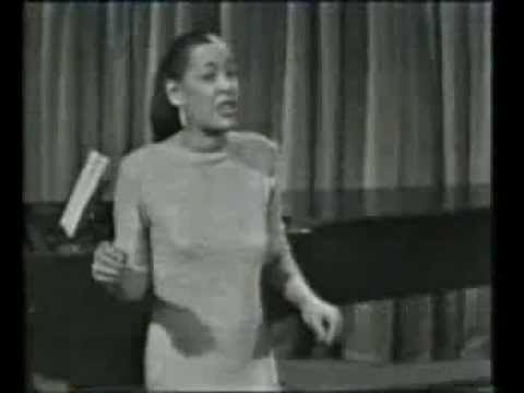 Billie Holiday - Please Don't Talk About Me When I'm Gone - live 1959