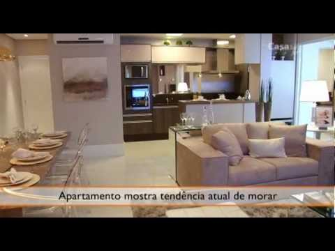 Ideias para decorar o apartamento moderno youtube for Decorar casa 45 m2