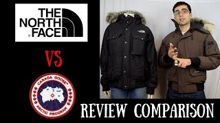 $800 Canada Goose Chilliwack vs $300 North Face Gotham Jacket: Review Copmarison
