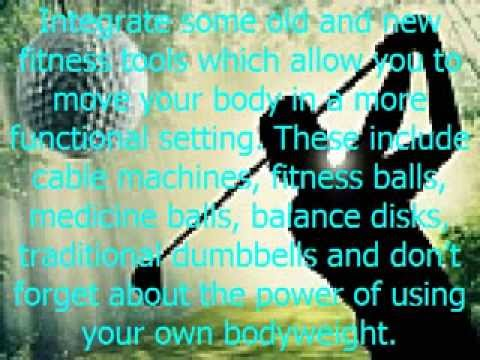 3 Key Elements to a Golf Specific Fitness Program