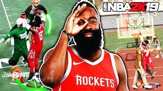 MVP 🌟 JAMES HARDEN COOKING AT THE PARK NBA 2K19