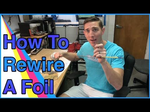 How To Rewire A Foil - Fencing Equipment Repair