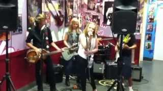 "5 Minutes Late perform ""I'm Just A Girl"" by No doubt at Archie's Ice Cream in Tustin,Ca - 8/8/13 Thumbnail"