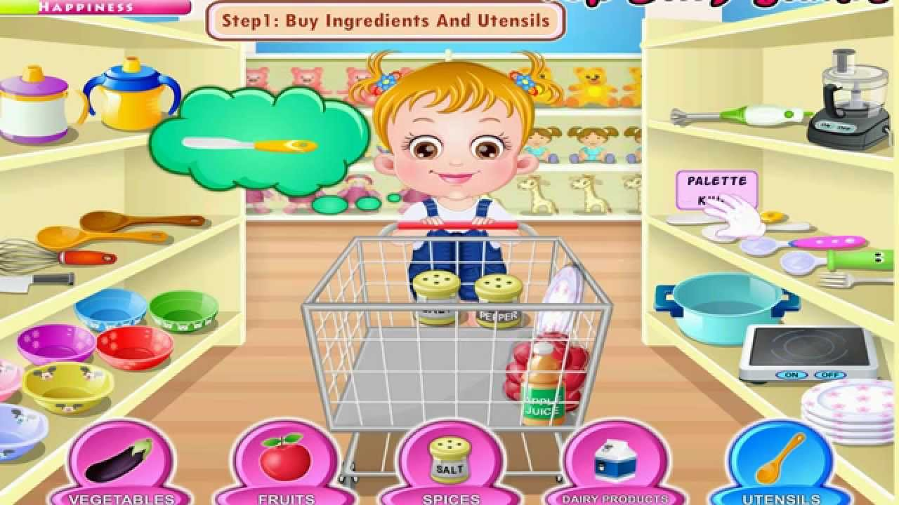 Play Baby Hazel: In the Kitchen online for Free on Agame