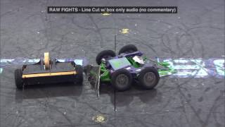 Brutus vs Lock Jaw: BattleBots Season 2 Round of 32