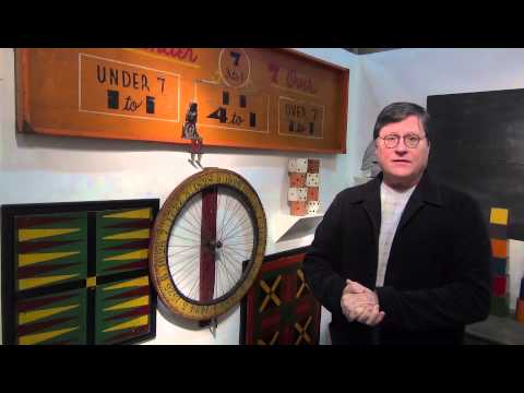 Buying Antique & Vintage Game Wheels & Game Boards