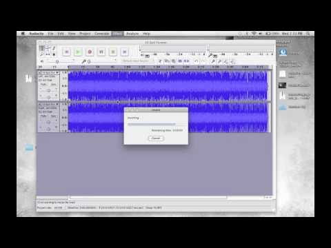 How to Remove Vocals from mp3 Song using Audacity - Song Lyrics Removing for Mac and PC