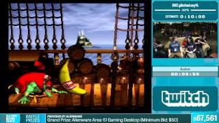 Donkey Kong Country Glitched Any% by Eazinn in 9:54 - Summer Games Done Quick 2015 - Part 7
