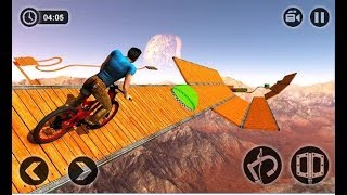 Impossible BMX Bicycle Stunts / Race Simulator / Bicycle Driving / Android Gameplay Video
