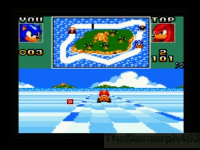 Sonic Drift 2 Blue Cup + Final GP & Ending