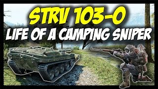 ► World of Tanks: STRV 103-0 Review, Tier 9 Swedish Tank Destroyer - Patch 9.17 Update