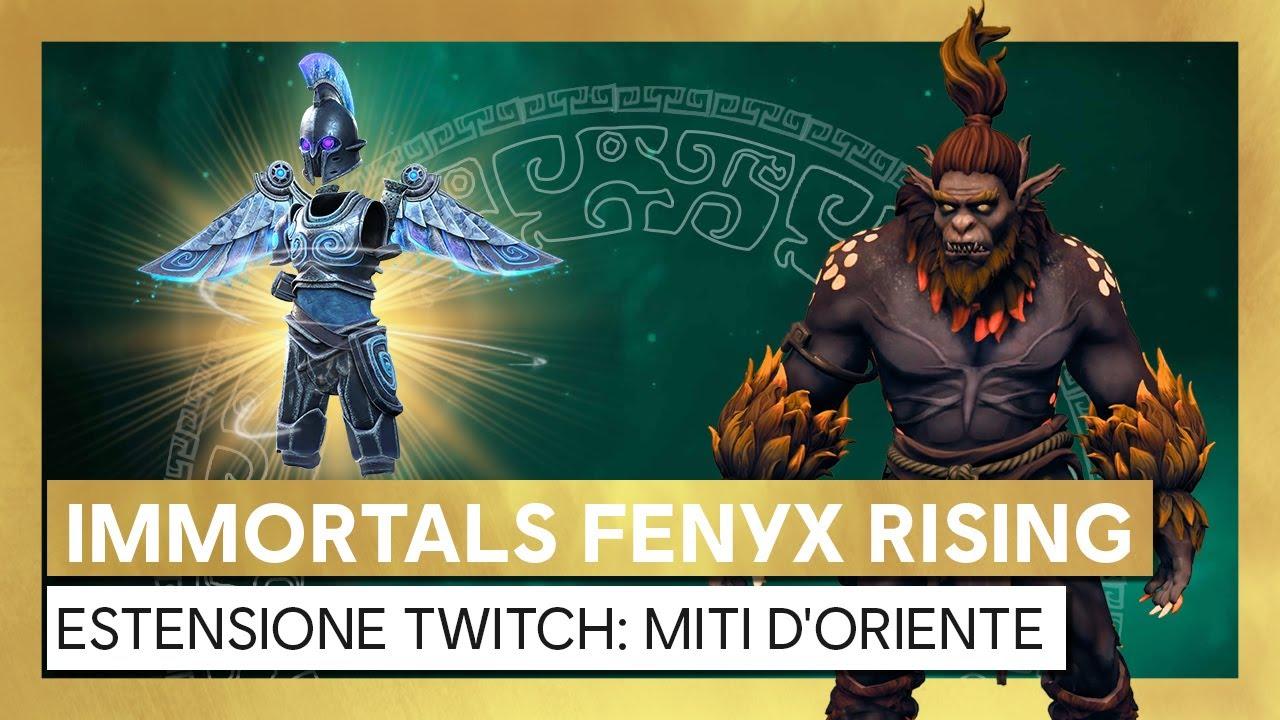 Immortals Fenyx Rising - Estensione Twitch Caccia ai Mostri: Miti d'Oriente