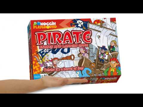 Pirates Snakes And Ladders Counting Preschool Learning Game - Teaser Trailer