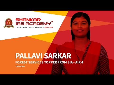Pallavi AIR 4 - IFoS Topper Motivational Success Story
