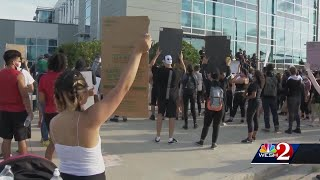 Protests and COVID-19 in Central Florida