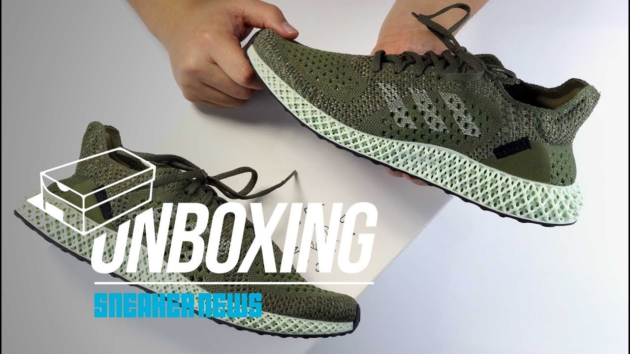 3af8df60bfc98 FOOTPATROL adidas Futurecraft 4D Unboxing + Review - YouTube