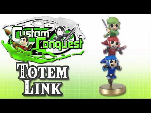 Custom Conquest #15 - Totem Link custom amiibo