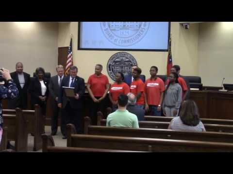 4. Special Proclamation Teen Explosion Youth Action Group
