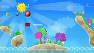 Aqua Panic Dynamic Theme for PS3 (HD)