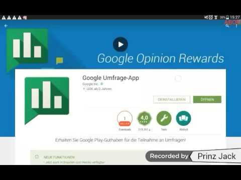 Google Play Guthaben Kostenlos