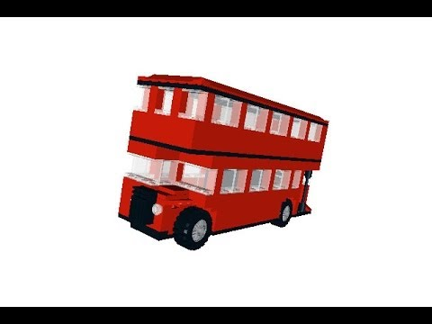 Lego Double Decker Bus Instructions Full Size Youtube
