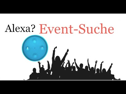 amazon echo alexa welche events gibt 39 s in meiner n he skill report youtube. Black Bedroom Furniture Sets. Home Design Ideas