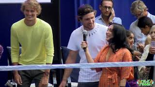 Lotte NY Palace Invitational 2018! Serena Williams, Rafa Nadal, Kyrgios, Zverev! FULL VID