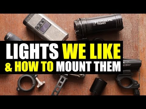 BICYCLE LIGHTS & MOUNTING TIPS