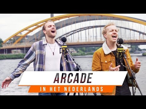 Dit is hoe ARCADE van DUNCAN LAURENCE in het Nederlands klinkt | BENR COVER