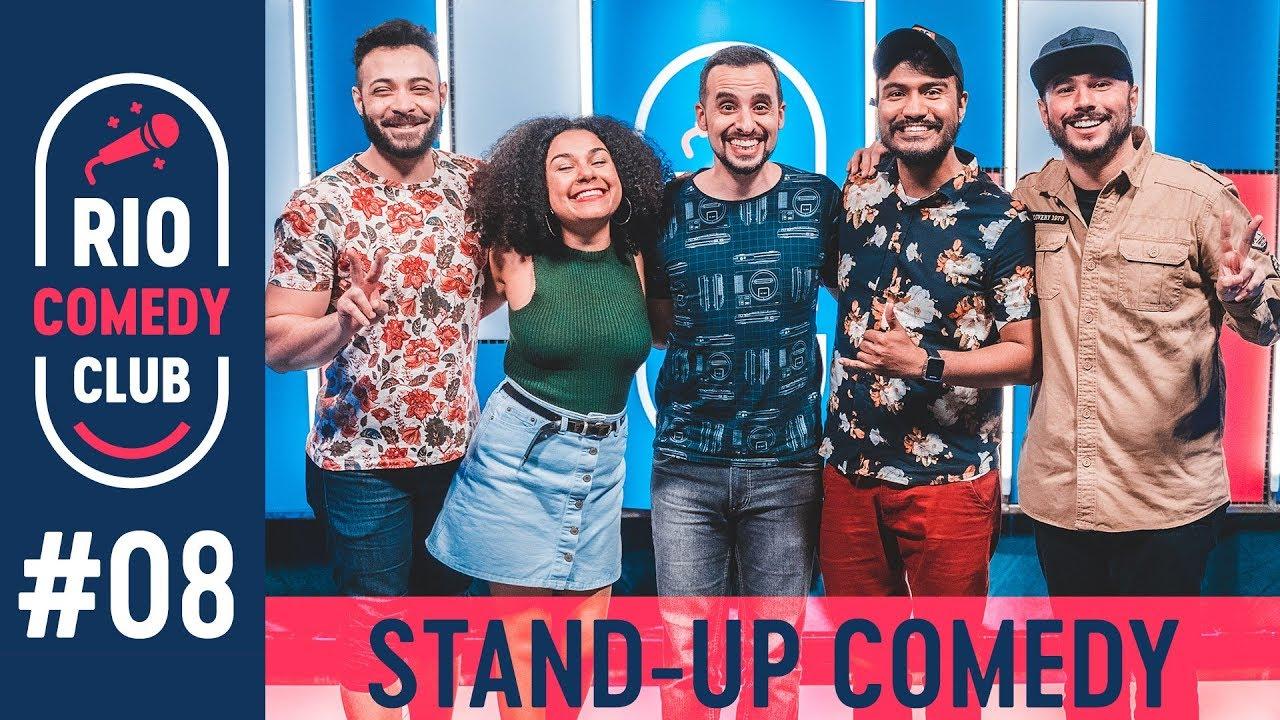 RIO COMEDY CLUB 8 - STAND-UP c/ Ed Gama, Daniel Lopes, Yas Fiorello e Alan Ribeiro