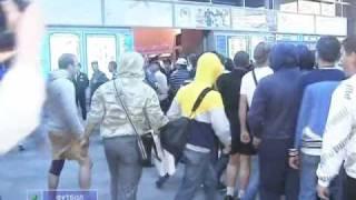 встреча Владимира Быстрова на Московском вокзале