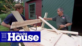 How to Build A Picnic Table - This Old House