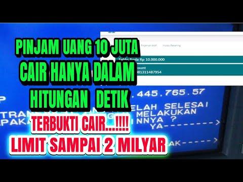 Aplikasi Pinjaman Online Cepat Cair Youtube