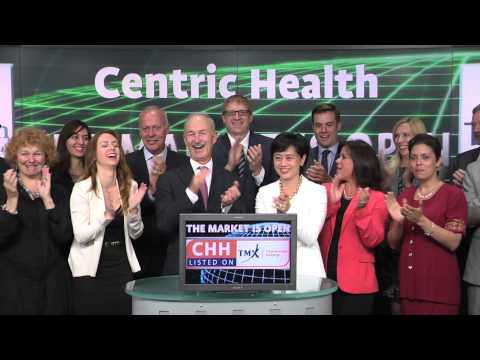 Centric Health Corporation (CHH:TSX) opens Toronto Stock Exchange, June 25, 2014