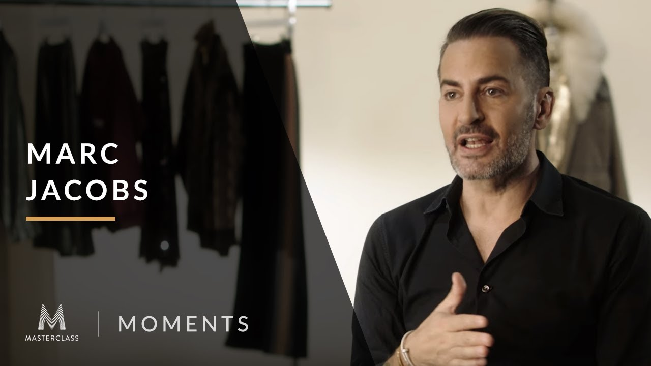 Marc Jacobs Masterclass Review- Teaching Fashion Designing Art