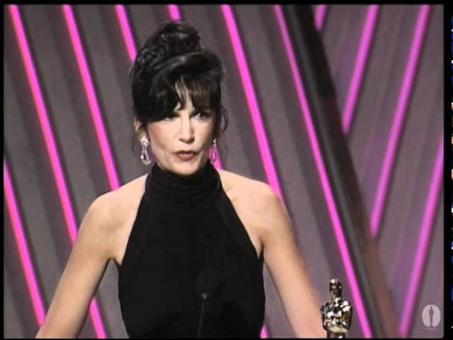 Mercedes Ruehl Wins Supporting Actress 1992 Oscars Youtube