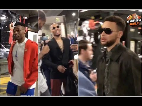 NBA Superstars arrive for the All Star Game 2018 | NBA Fashion